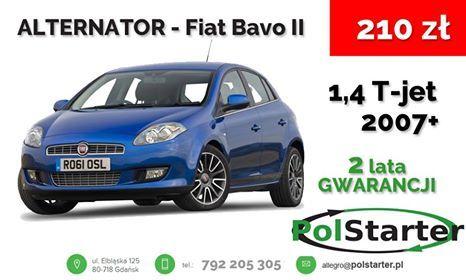 ⚫ Fiat Bravo II to jeden z ciekawszych samochodów, który można kupić w naprawdę przyzwoitej cenie. Jeśli potrzebujesz do niego alternatora, zajrzyj na naszą aukcję. 🚗🚕🚙🚌🏎🚓🚑🚒🚐🚚🚜🚖🚘🚍🚔  ⚫ Bezpośredni link do aukcji z alternatorem:  ➜ http://allegro.pl/alternator-fiat-bravo-punto-ii-iii-siena-ford-ka-i6268398190.html  ⚫ KONTAKT: 📲 792 205 305 ✉ allegro@polstarter.pl  #alternator #mechaniksamochodowy #autoczęści