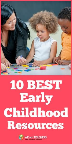 10 Best Early Childhood Resources Pin                                                                                                                                                                                 More