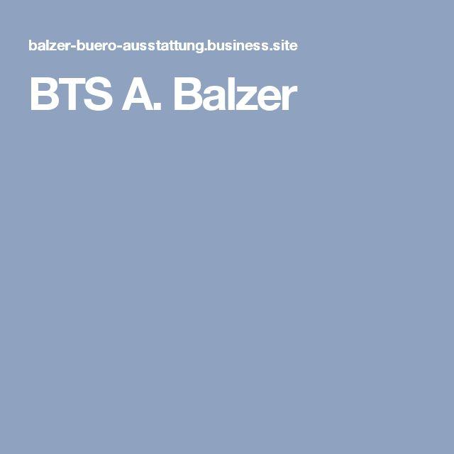BTS A. Balzer