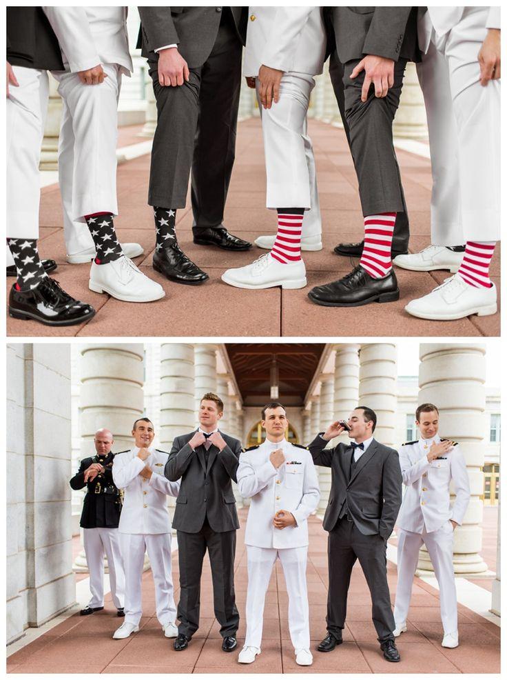 USNA naval academy groomsmen patriotic socks