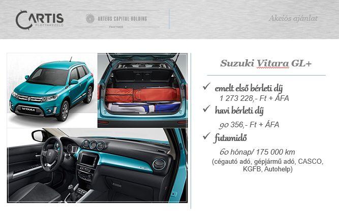 Új Suzuki Vitara a Cartistól