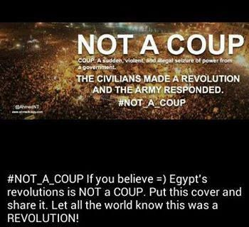It's not a coup, it's a revolution>