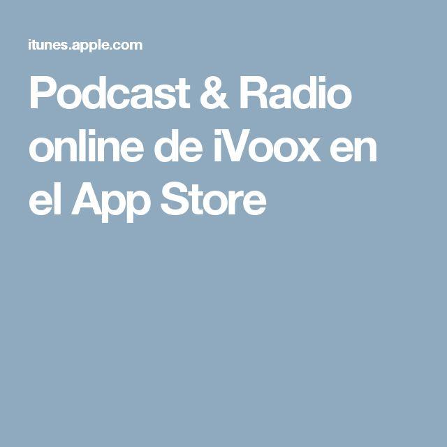 Podcast & Radio online de iVoox en el App Store
