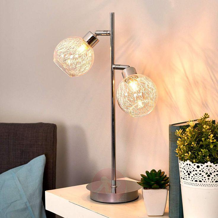 Bordlampe Paulina, 2 lys-9970015-30