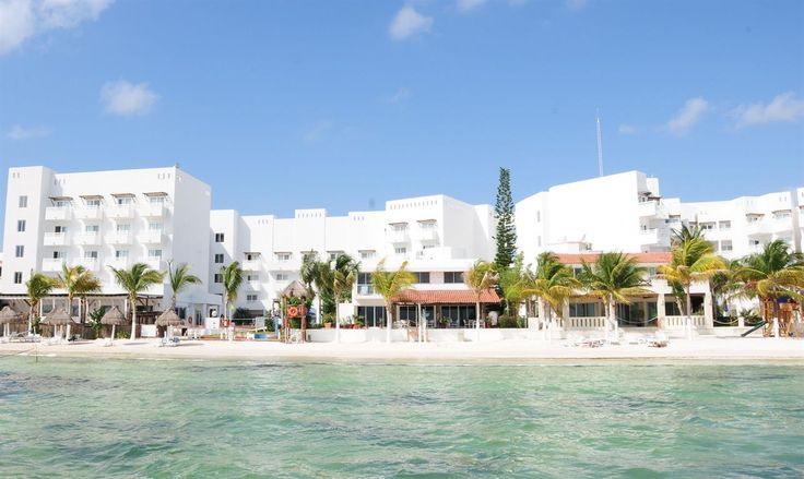 Relax at Cancun, Mexico hotel's beachfront location!