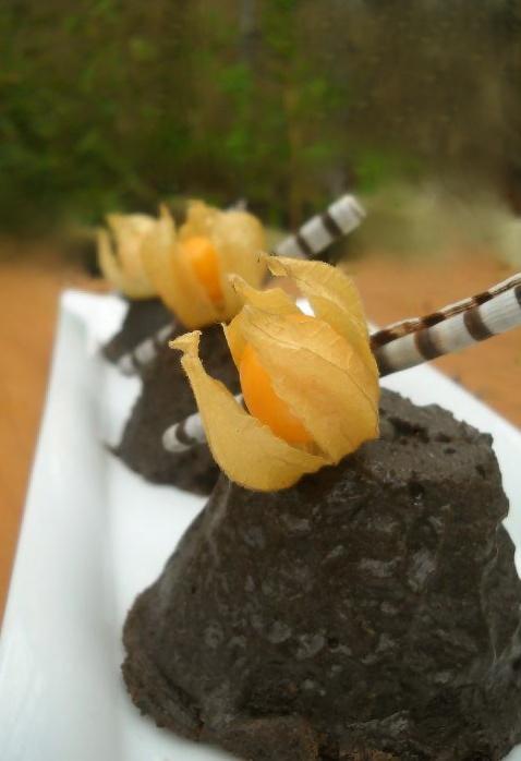 Coulant de Chocolate Raw orgánico al 70%