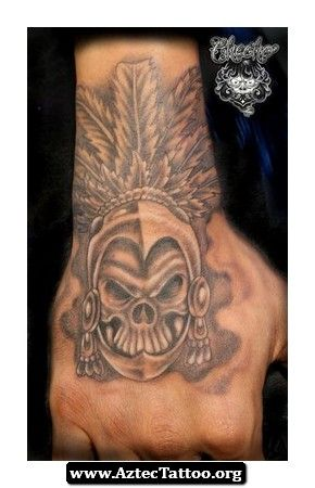 Jose Lopez Aztec Tattoo 06 - http://aztectattoo.org/jose-lopez-aztec-tattoo-06/