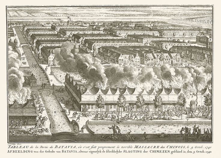 Massacre on Chinese - Batavia 1750
