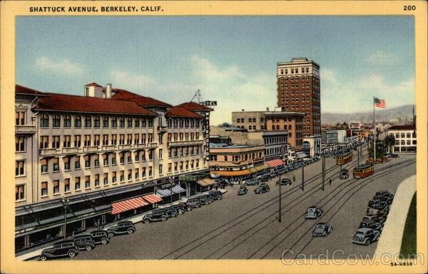Downtown Berkeley Hotel