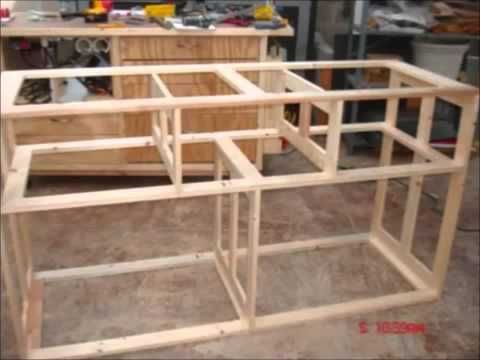 Wood Dresser Plans How To Build A Dresser Diy Timelapse Woodwork Build Of A Wooden Timber - YouTube