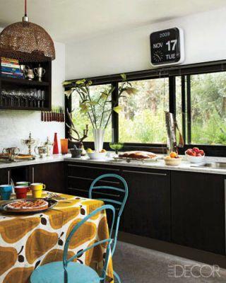 Polo Star Nacho Figueras's Stylish Home - ELLEDecor.com