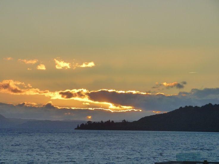Sunset - Taupo