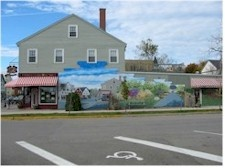 Drugstore Mural in St. Andrews by the Sea, New Brunswick