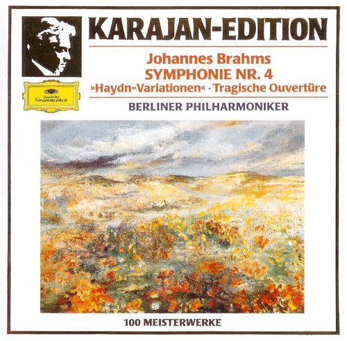 "Karajan-Edition: Johannes Brajms - Smphonie nr. 4 - ""Haydn-Variationen"" - Tragische Ouverture"