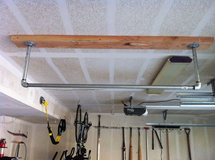 Fresh Basement Pull Up Bar I Beam