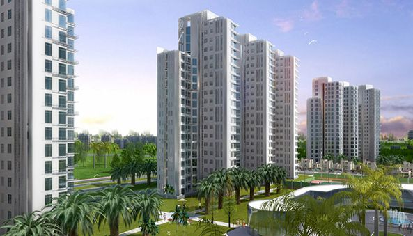 Lotus Greens Offers Ultra Luxury 4 BHK +4T Flats at Best Price . Call Us : 9999977720
