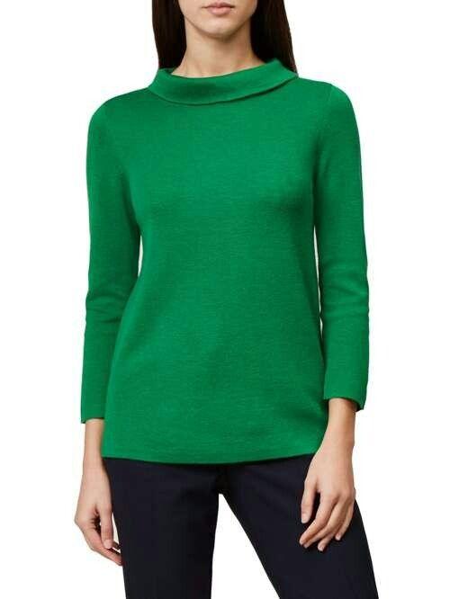 Hobbs Annick green jumper