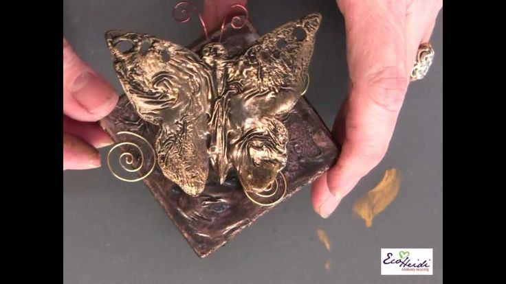 Creating the Look of Metal using Aleene's Original Tacky Glue (Long Vers...
