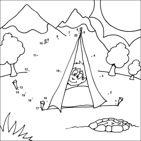 T Tent Dot to dot Saxon Phonics