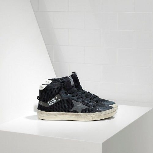 2016 Nouvelle Soldes Golden Goose 2.12 Chaussures In Bonded Fabric With Leather…