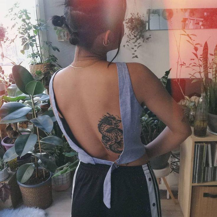 45 Fantastic Dragon Tattoos for BodyArt! Click and see! Dragon tattoos for … #bodyart # dragon tattoos #fantastic #click