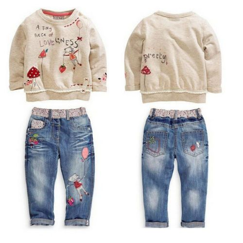 http://babyclothes.fashiongarments.biz/  HOT kids Baby Girls Tops + Jeans Denim Pants Set Outfits Autumn Clothing 2-7 US, http://babyclothes.fashiongarments.biz/products/hot-kids-baby-girls-tops-jeans-denim-pants-set-outfits-autumn-clothing-2-7-us/,   WELCOME      Quality is the first with best service. customers all are our friends. Fashion design,100cm Brand New,high quality! Type:  Kids Outfits 2Pcs Color : Show as the pictures   Material:100cm Cotton+Jeans Attention plz: If your kid is…