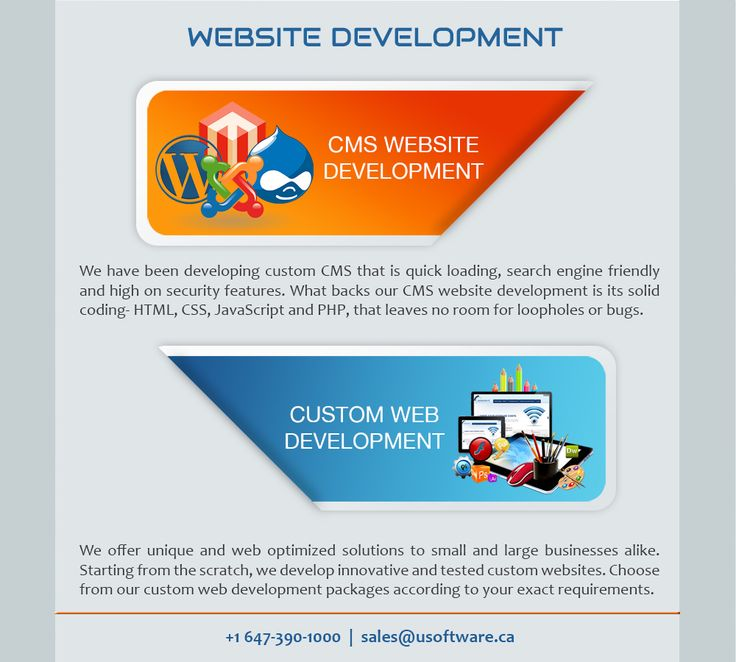 We have been developing custom CMS that is quick loading, search engine friendly and high on security features. We offer unique and web optimized solutions to small and large businesses alike. Starting from the scratch, we develop innovative and tested custom websites.