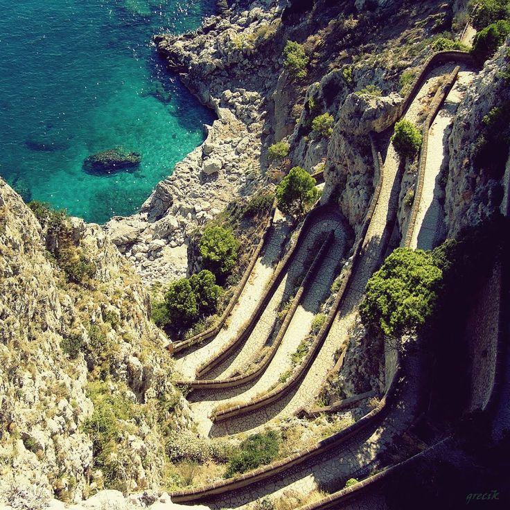 Via Krupp - Isola di Capri