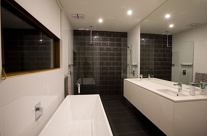 Bathroom, Lightsview Terrace Display Home. Open by appointment.
