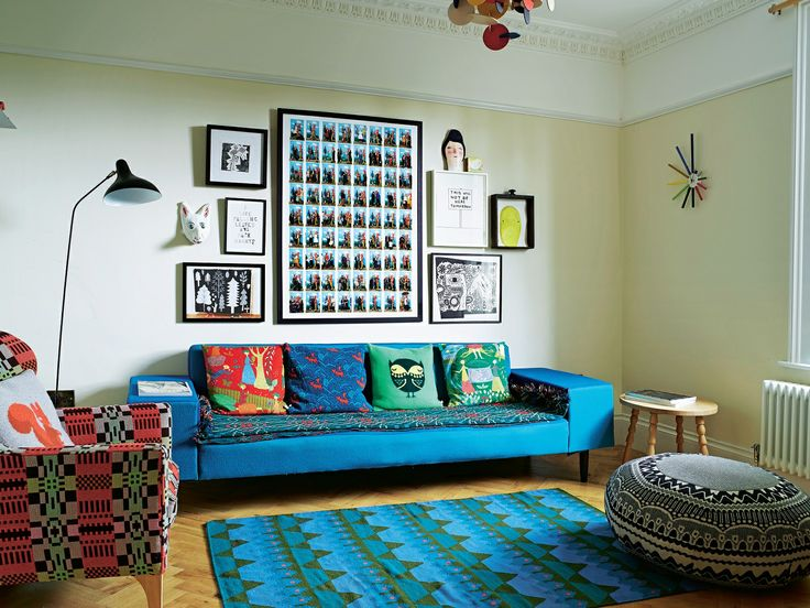 Donna, Jon, and Eli's colourful home is featured in The Telegraph! Photographed by Rachael Smith, article by Rachel Leedham.  Article available here: http://www.telegraph.co.uk/property/interiorsandshopping/10830865/Interiors-Donna-Wilsons-colourful-London-home.html?fb