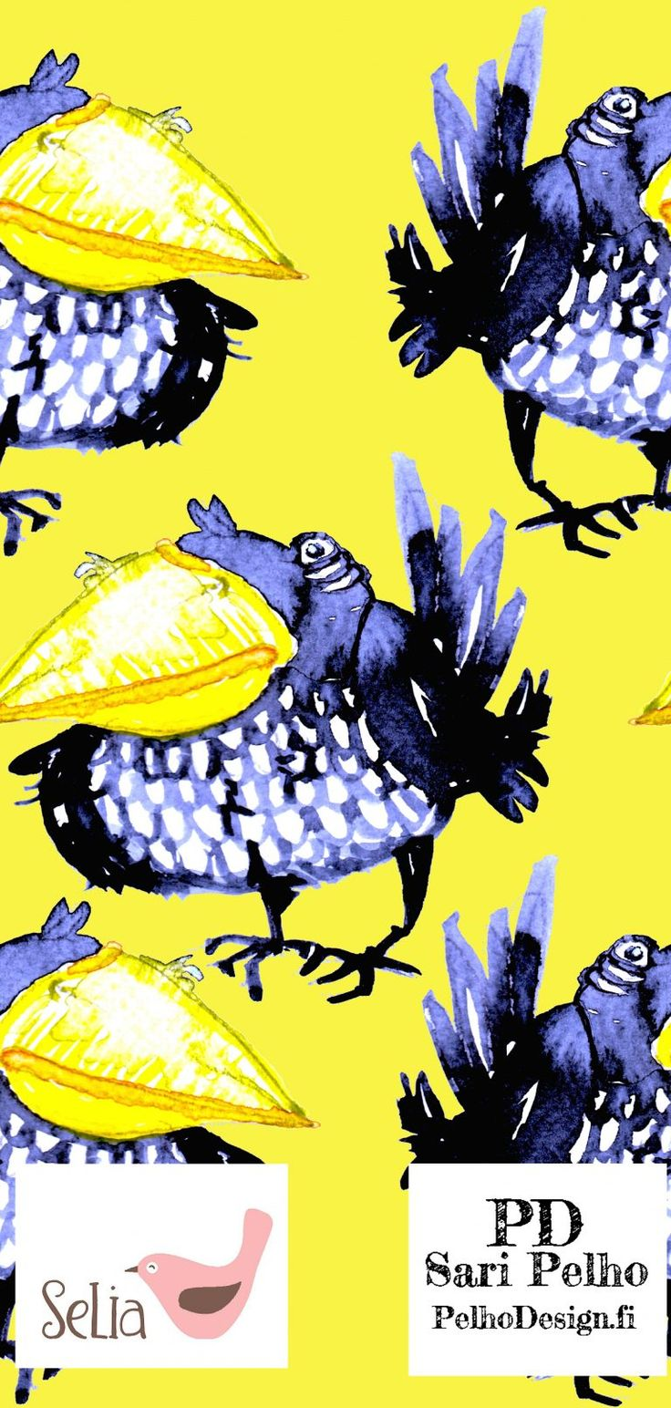 Luomujersey Kvaakku. Linnun korkeus on 14 cm. Valmistuttaja:Selia, suunnittelija Sari Pelho / PelhoDesign Neliöpaino: 230g / m2 Leveys: n. 160 cm Materiaalitiedot: 95 % luomupuuvillaa, 5 % lycra, Ökotex 100 Pesu: 40 asteessa nurin käännettynä samanväristen kanssa/erillään. Kutistuvuus: 3 – 5%. Valmistettu euroopassa. Kankaat myydään 0,1m tarkkuudella eli ostaessasi kangasta esim. 0,5m lisää ostoskoriin 5...