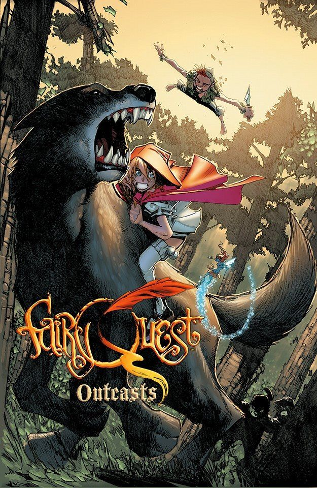Fairy Quest: Outcasts #2 by Humberto Ramos *