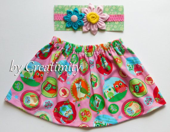 Baby girl skirtgirl skirtbaby girl setbaby by CreatimityCasual
