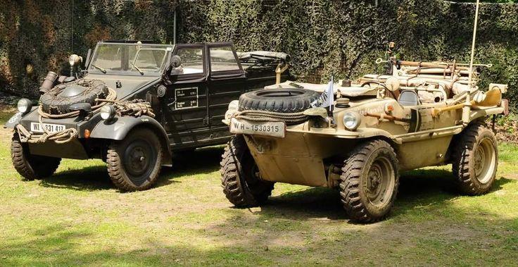 VW Schwimmwagen and Kübelwagen