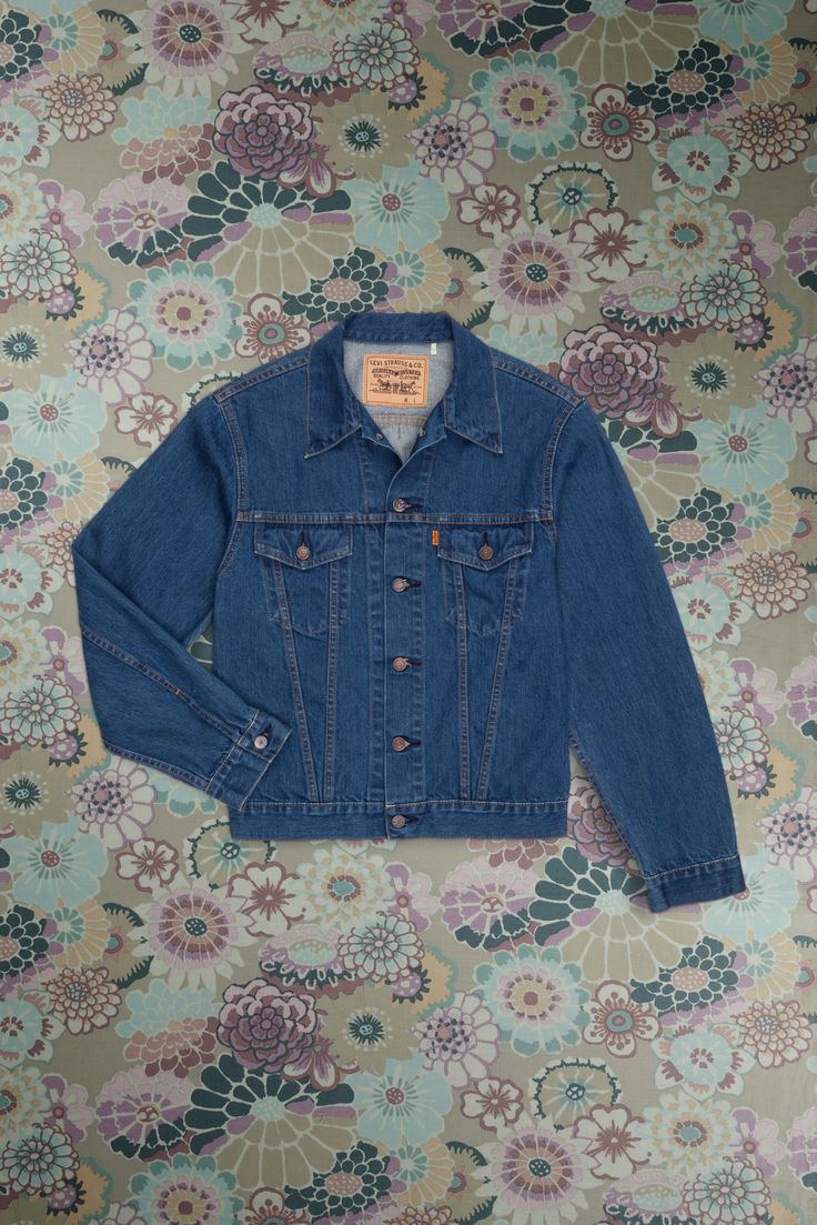 Levi's Vintage Clothing 1970's Denim Trucker Jacket | Levi ...