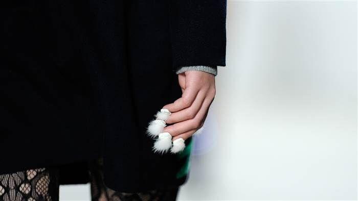 Furry nails