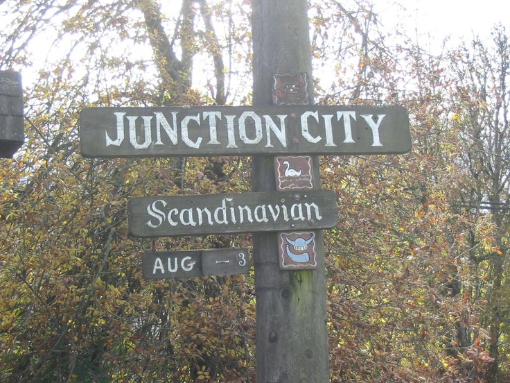 Junction City, Oregon.  Home of the Scandinavian Festival!