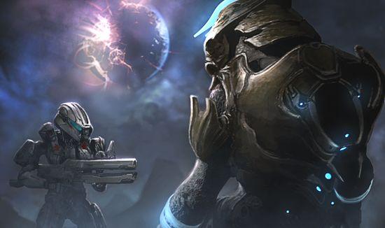Halo: Spartan Assault Artwork (Spartan Palmer)