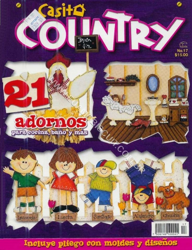 Free Magazines Crafts: How to make decorations for the home country