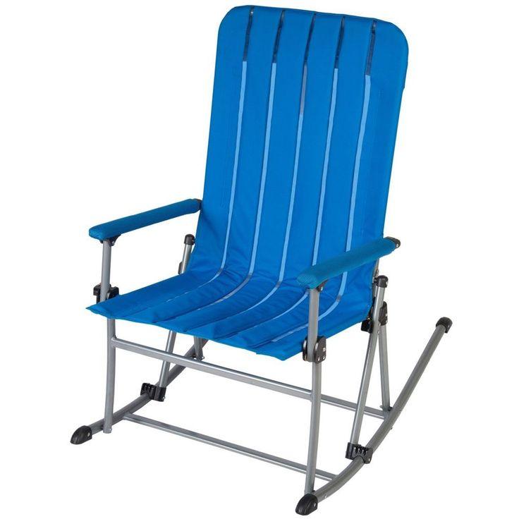 Portable Rocking Chair - Blue