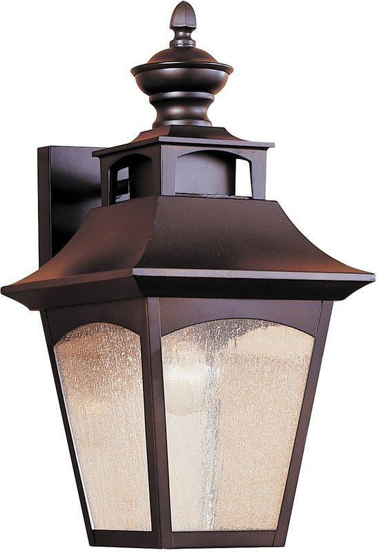 Murray Feiss OL1001 Craftsman / Mission 1 Light Outdoor Wall Sconce from the Hom Oil Rubbed Bronze Outdoor Lighting Wall Sconces Outdoor Wall Sconces