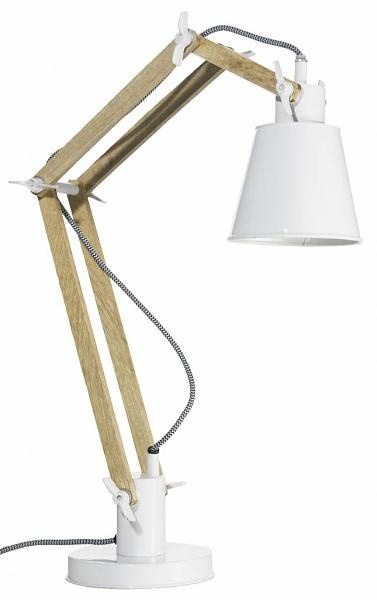 Madam Stoltz Tafellamp, wit