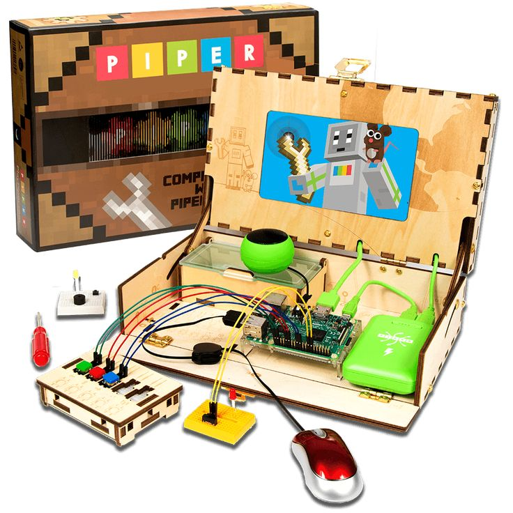 The Piper Computer Kit is designed to introduce kids to computers and computing.