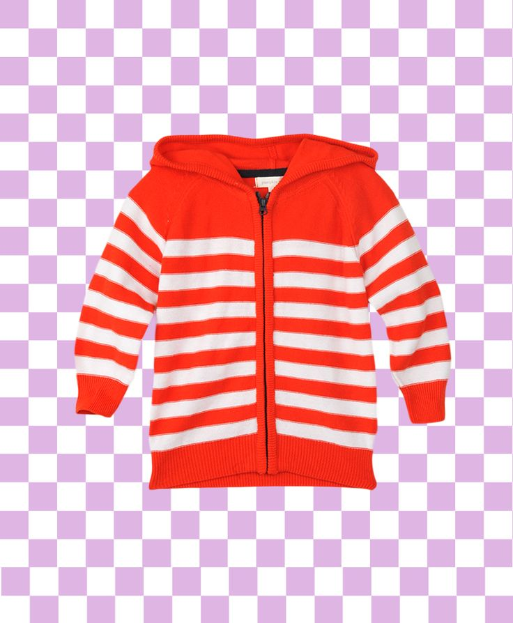 Pumpkin Patch Reverse Stripe Hooded Knit Jumper - available in sizes 12-18m to 6 years http://www.pumpkinpatchkids.com