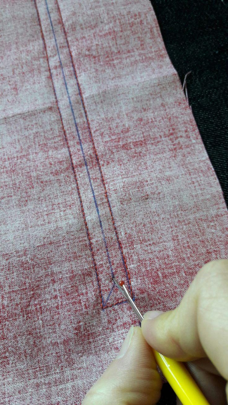 Tutorial: como hacer un bolsillo exterior con cremallera.