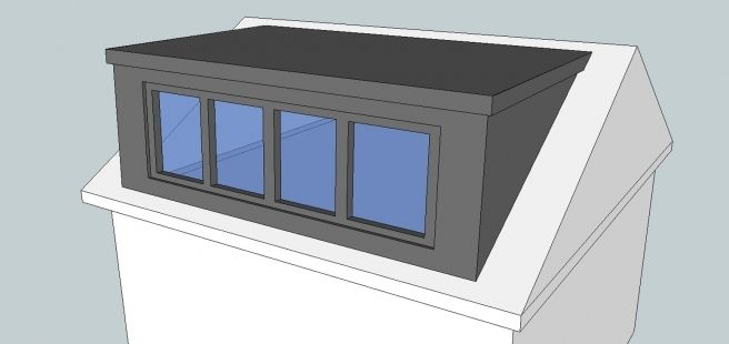Gable wall mansard loft conversion google search the - Dormer window house plans extra personality ...