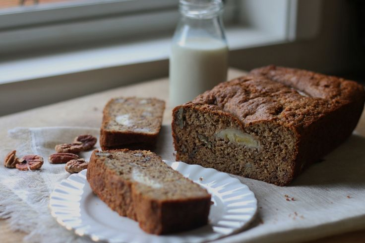 The Healthiest Wholesome Banana bread
