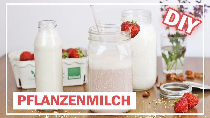 Pflanzenmilch selber machen | HANF, MANDEL incl. Milchshake-Rezept