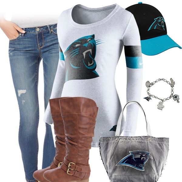Cute Carolina Panthers Outfit