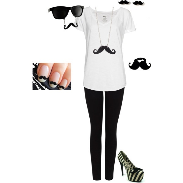 mustache, Mustache, MUSTACHE!!!!!!!!!!!!!!!!: Mustache Outfits, Dreams Outfits, Mustache Parties, Fashion, Style, Mustache Mustache, Mustache Shoes, Mustache Stuff, Mustache And Sunglasses